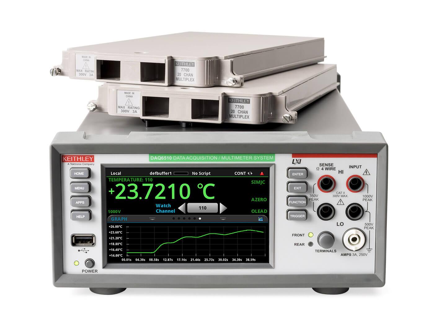 Új nagypontosságú 6 1/2 digites multiméter és adatgyűjtő a Keithley Instrumentstől