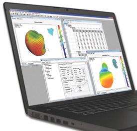 Antenna karakterizáló szoftver