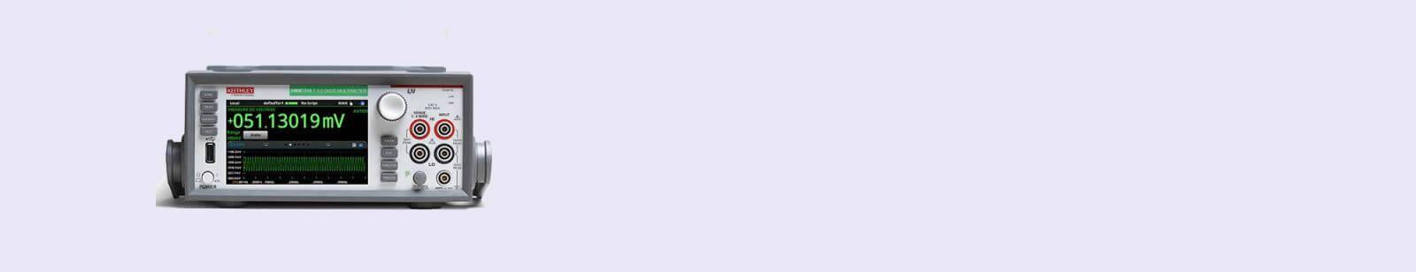 DMM7510 7 1/2 digites grafikus multiméter